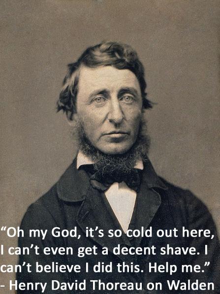 Writer Misquotes 2: Henry David Thoreau